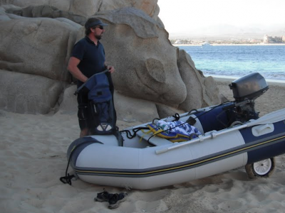 waterproof backpack dinghy mexico